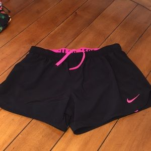 Nike Dri fit with pink liner underneath size M